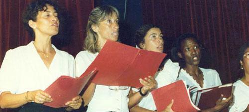 L'Ensemble Vocal Les Baladins au tout début