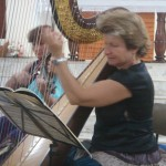 Claire Lefur aux Journées de la Harpe à Bouillante