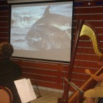 Claire Lefur organisatrice des Journées de la Harpe