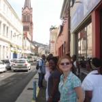 Dans les rues de Fort-de-France après répétition