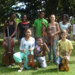 Jeunes musiciens en herbe