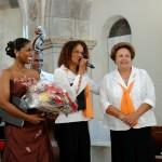 Leïla Brédent avec Emma Venthou-Dumaine et Gislaine Miolard des Baladins