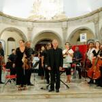 L'orchestre salue le public
