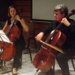 Lucile Mauchauffé et Jean-Eric Thirault au violoncelle