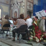 Maxime Matthieu avec l'orchestre