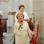 Mme Lucette Michaux-Chevry dit tout son plaisir  après ce concert