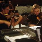 Solange Wisard et Nenad Volarov violonistes de Chevalier de St Georges