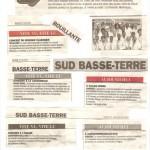 Concerts Basse-Terre-Bouillante et Capesterre Belle-Eau